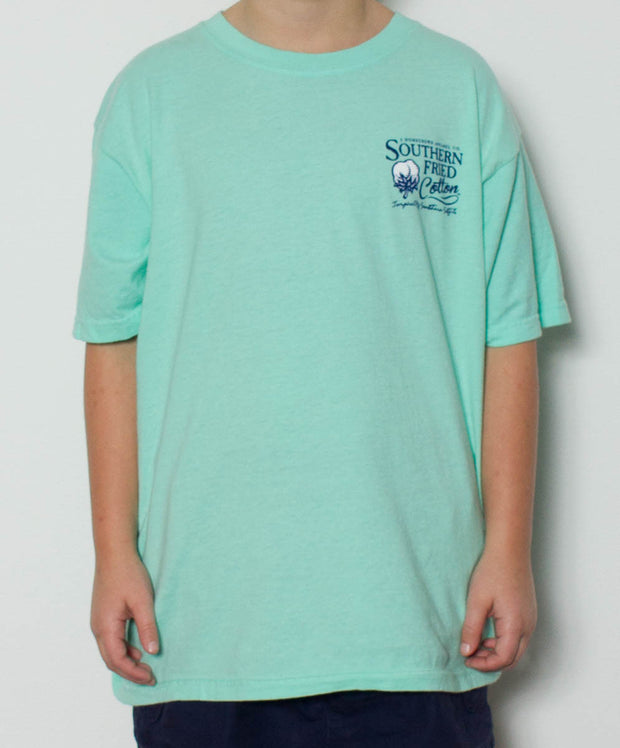 Southern Fried Cotton - Youth Winston T-Shirt - Island Reef Front