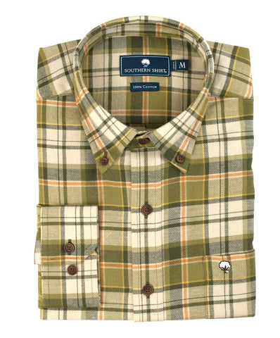 Southern Shirt Co. - Shady Pine Flannel Shirt