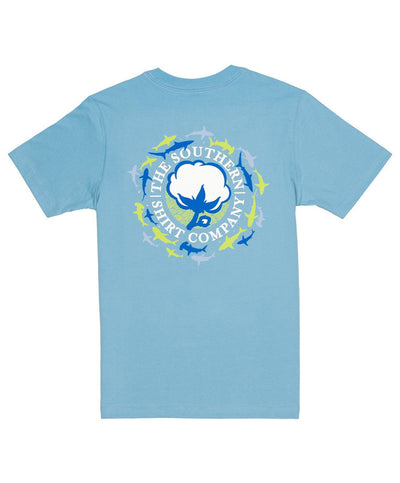 Southern Shirt Co - Youth Shark Logo Tee