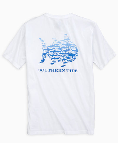 Southern Tide - School of Sharks Short Sleeve Tee