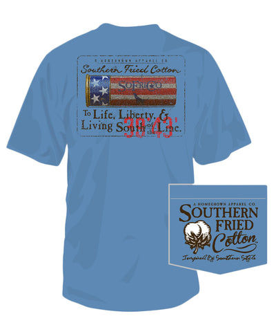 Southern Fried Cotton - Liberty Shell Pocket Tee