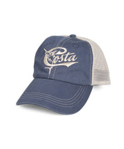 Costa - Retro Trucker Hat - Slate Blue/Stone