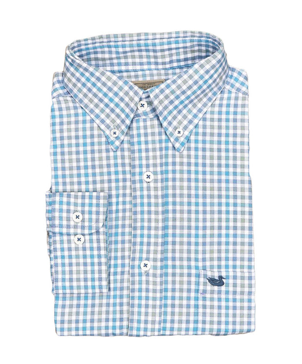 Southern Marsh - Cashiers Washed Gingham Button Down