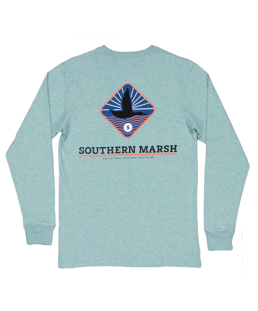 653b6b9ebad Southern Marsh - Branding - Flying Duck Long Sleeve Tee – Shades ...