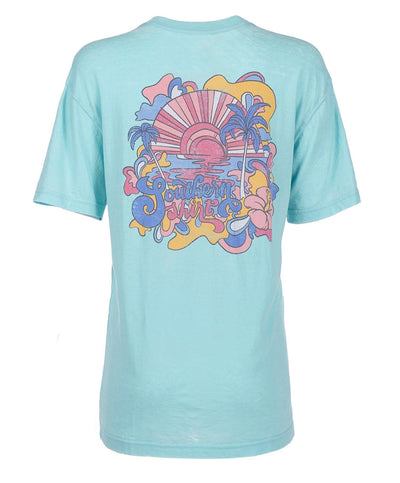 Southern Shirt Co - Don't Worry, Be Hippie Tee