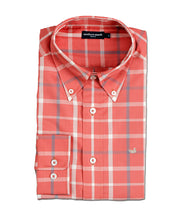 Southern Marsh - The Lafitte Tattersall - Washed Red/Tan