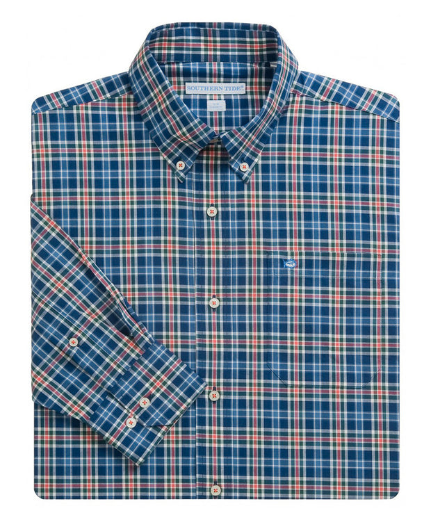 Southern Tide - Pendleton Plaid Sport Shirt - Twin Lakes