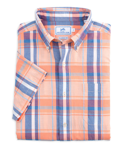 Southern Tide - South Lake Plaid Sportshirt