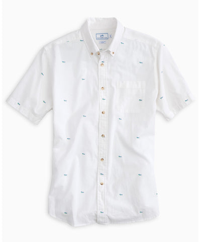 Southern Tide - Catch Of The Day Short Sleeve Sport Shirt