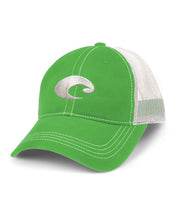 Costa - Mesh Hat - Spring Green/White