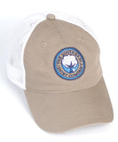 Southern Shirt Co. - Mesh Back Logo Hat - Khaki/White