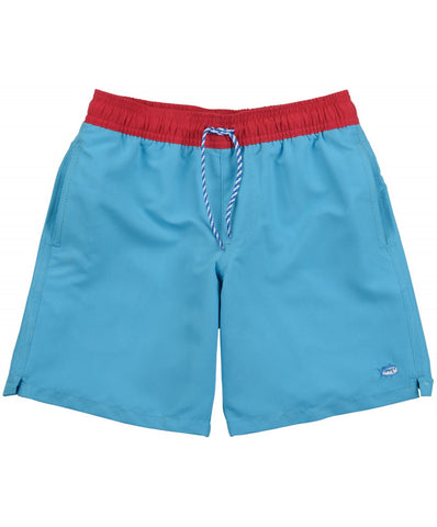 Southern Tide - Boys Contrast Pocket Water Short