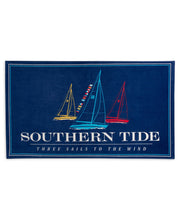 Southern Tide - Three Sails Beach Towel