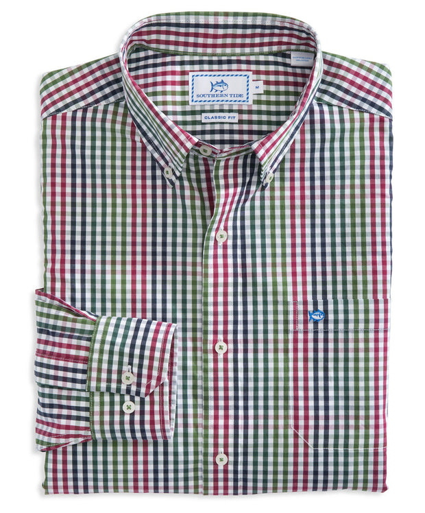 Southern Tide - West View Plaid Sport Shirt