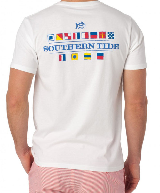 Southern Tide - Nautical Flags Tee