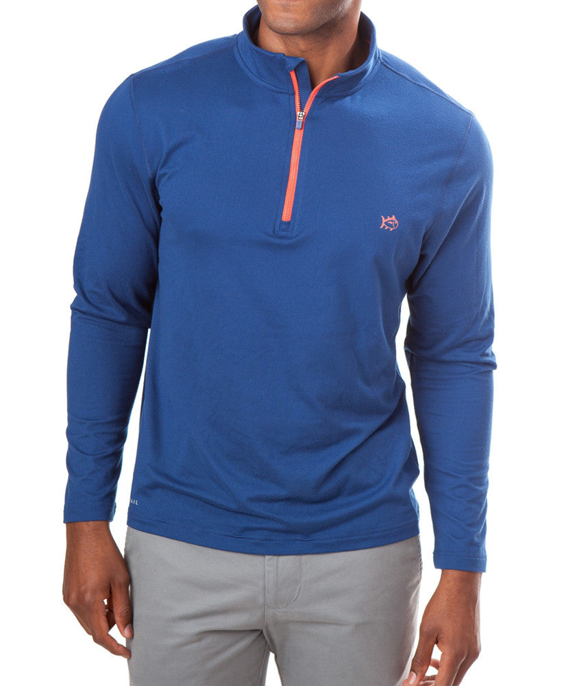 Southern Tide - Pop Color Performance 1/4 Zip