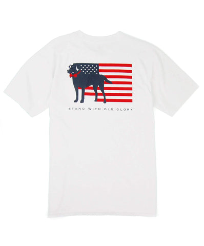 Southern Proper - Stand With Old Glory Short Sleeve Tee