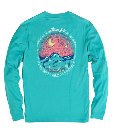 Southern Shirt Co - Starry Night Long Sleeve Tee