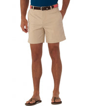 "Southern Tide - Summer Weight 7"" Channel Marker Short - Stone"