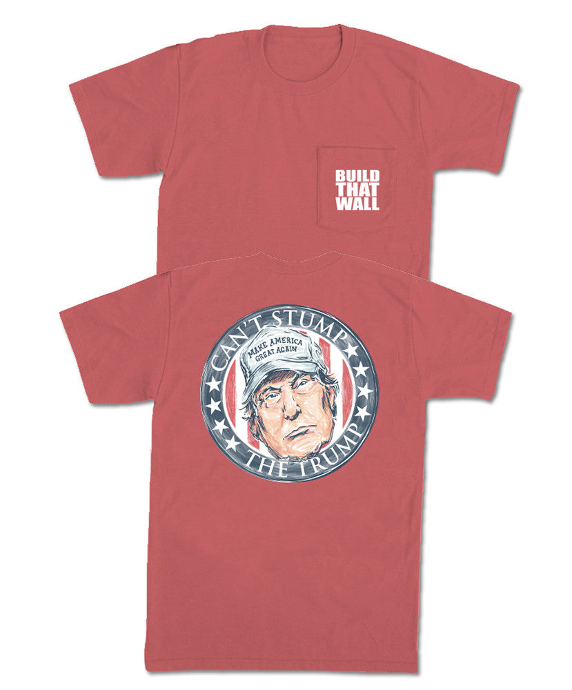 Old Row - Can't Stump the Trump Pocket Tee