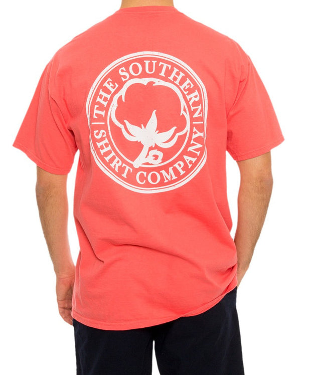 Southern Shirt Co. - Seaside Logo Tee - Sugar Coral