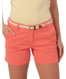 "Southern Tide - Ladies Chino Shorts 5"" - Sugar Coral"