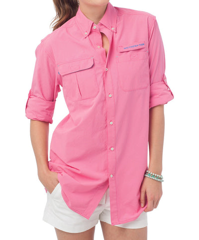 Southern Tide - Ladies Sullivan Fishing Shirt