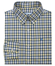 Southern Tide - Sonar Plaid Sport Shirt - Sunshine Plaid