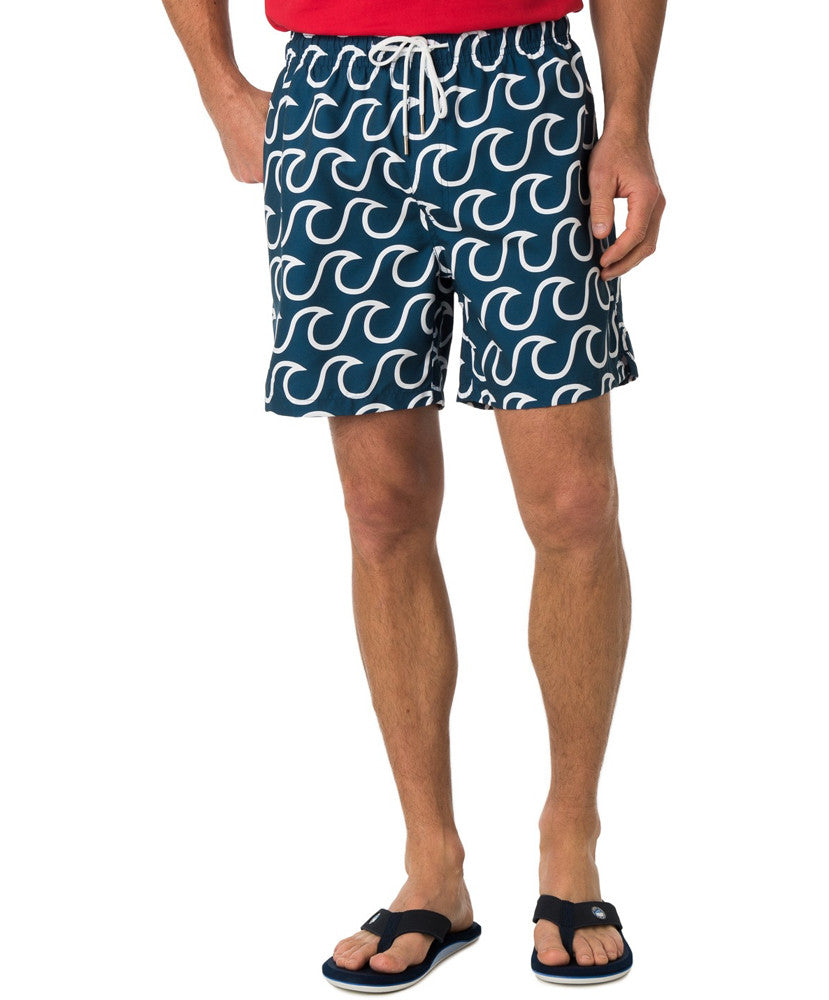 Southern Tide - Surfs Up Swim Trunk