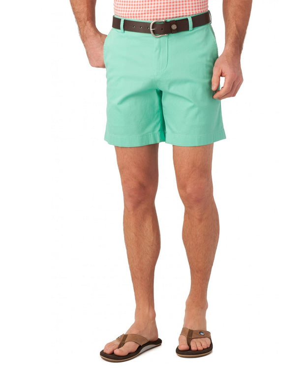 "Southern Tide - Summer Weight 7"" Channel Marker Short - Bermuda Teal"