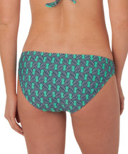 Southern Tide - Ladies Printed Bikini Bottoms - Bermuda Teal