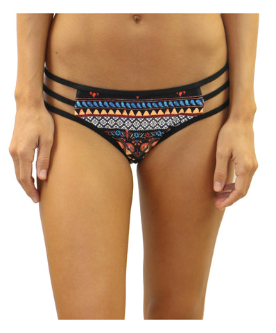 Heat  Swimwear - Bingo Side String Bottom with Binding