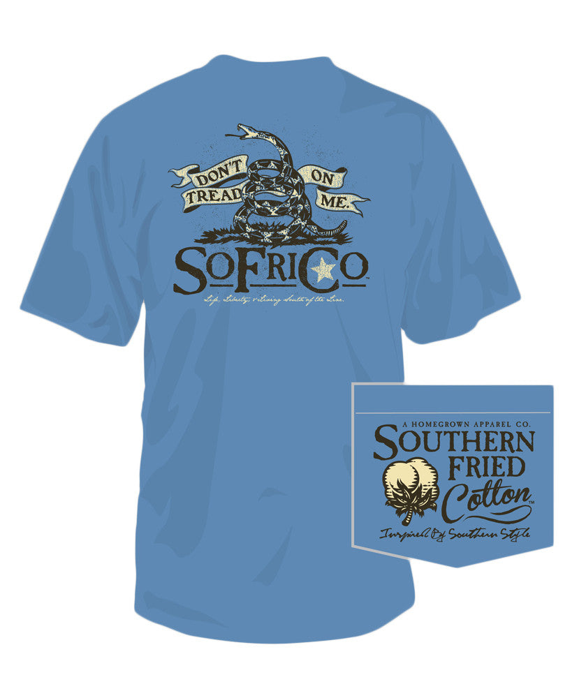 Southern Fried Cotton - Don't Tread II Pocket Tee