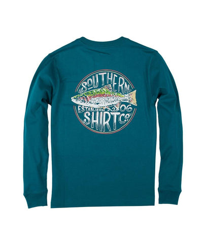 Southern Shirt Co - Youth Trotline Long Sleeve Tee
