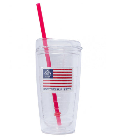 Southern Tide - 16oz Freedom Rocks Tumbler