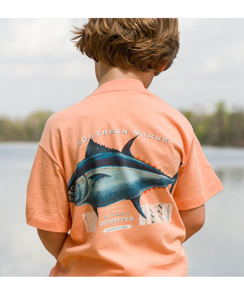 Southern Marsh - Youth Tuna T-Shirt - Melon