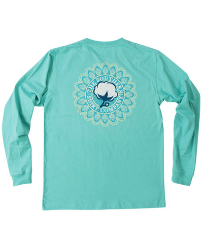 Southern Shirt Co - Mandala Logo Long Sleeve Tee