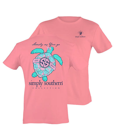 Simply Southern - Steady as You Go Turtle Tee