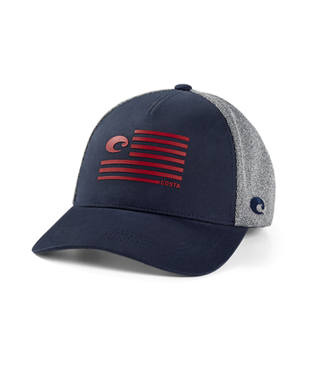 Costa - Twill Trucker Pride Logo Hat