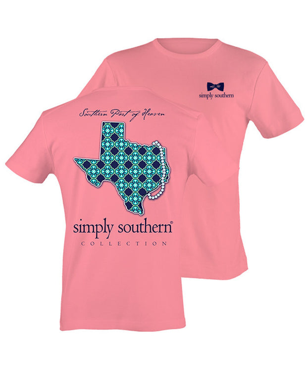 Simply Southern - Southern Part Of Heaven Texas Tee