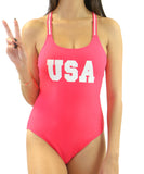 Heat Swimwear - One Piece with USA