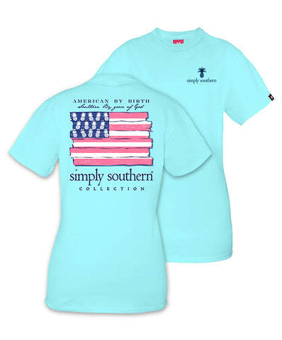 Simply Southern - American by Birth Tee