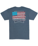 Southern Shirt Co - Wooden Flag Heather Tee