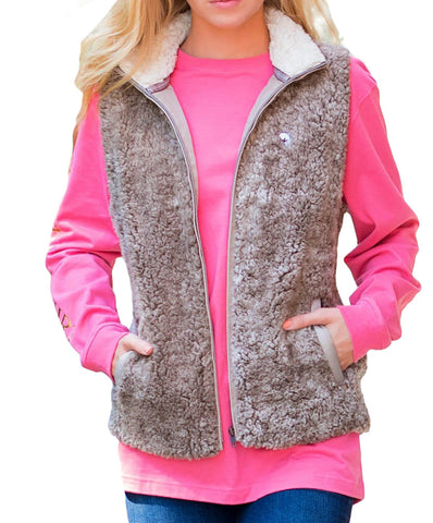 Southern Shirt Co - Heathered Sherpa Vest
