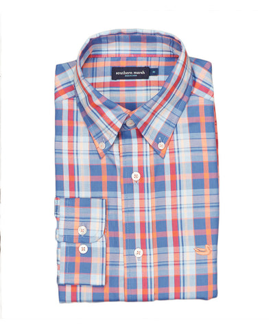 Southern Marsh - Walton Plaid Shirt