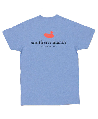 Southern Marsh - Authentic Tee - Vibrant Heather