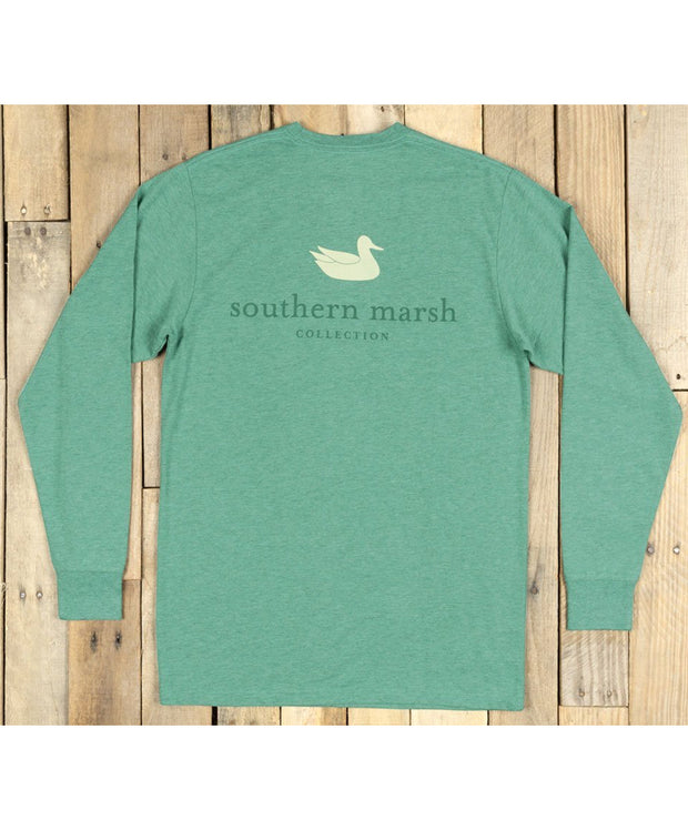 Southern Marsh - Authentic Long Sleeve Tee - Heather