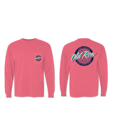 Old Row - Rad Chicks Long Sleeve Pocket Tee