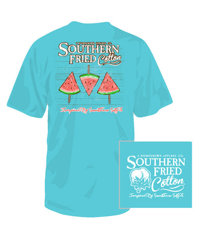 Southern Fried Cotton - Youth Waterpops Tee