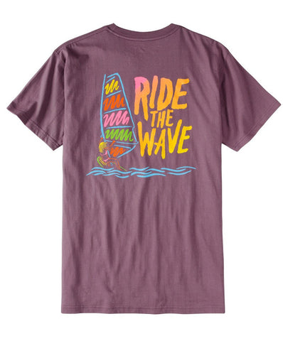 Rowdy Gentleman - Ride The Wave Pocket Tee